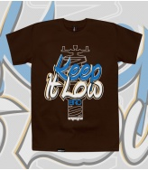 T-Shirt Keep It Low Bro Limited!