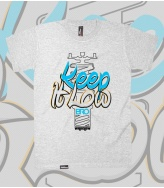 T-Shirt Keep It Low Bro!