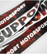 Smycz-krótka We Support Motorsport